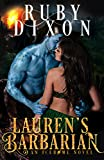 Laurens Barbarian: A SciFi Alien Romance (Icehome Book 1)