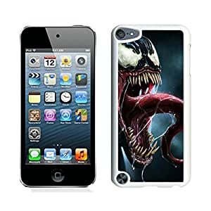 Unique And Antiskid Designed Cover Case For iPod 5 With Venom White Phone Case