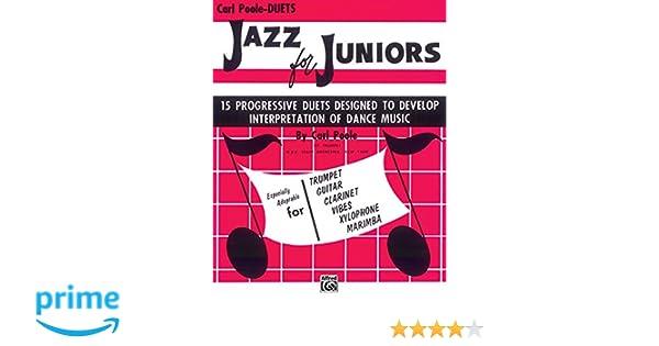 Jazz for Juniors: Duets 15 Progressive Duets Desigined To