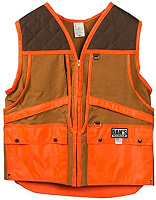 4694249e3e7bb Dan's Upland Game Vest, Front Loading Game Pouch, Made in U.S.A.