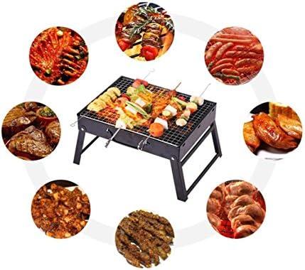 HomJo Barbacoa grill Parrilla de barbacoa de patio plegable al aire ...