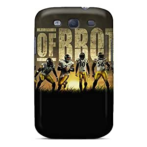 Pretty Galaxy S3 Case Cover/ Pittsburgh Steelers Series High Quality Case