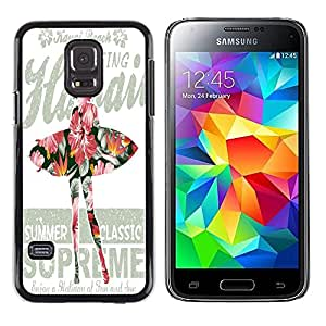 Dragon Case - FOR Samsung Galaxy S5 Mini, SM-G800 - ?take a day for granted - Caja protectora de pl??stico duro de la cubierta Dise?¡Ào Slim Fit