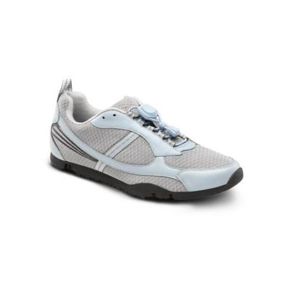 Dr. Comfort Sandy Womens Sneaker Light Blue X-Wide Size 8