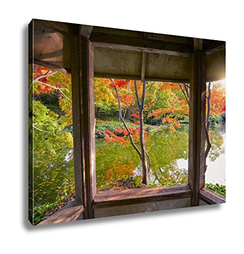 Ashley Canvas, Fall Foliage In Texas, 20x25 (Best Fall Foliage In Texas)