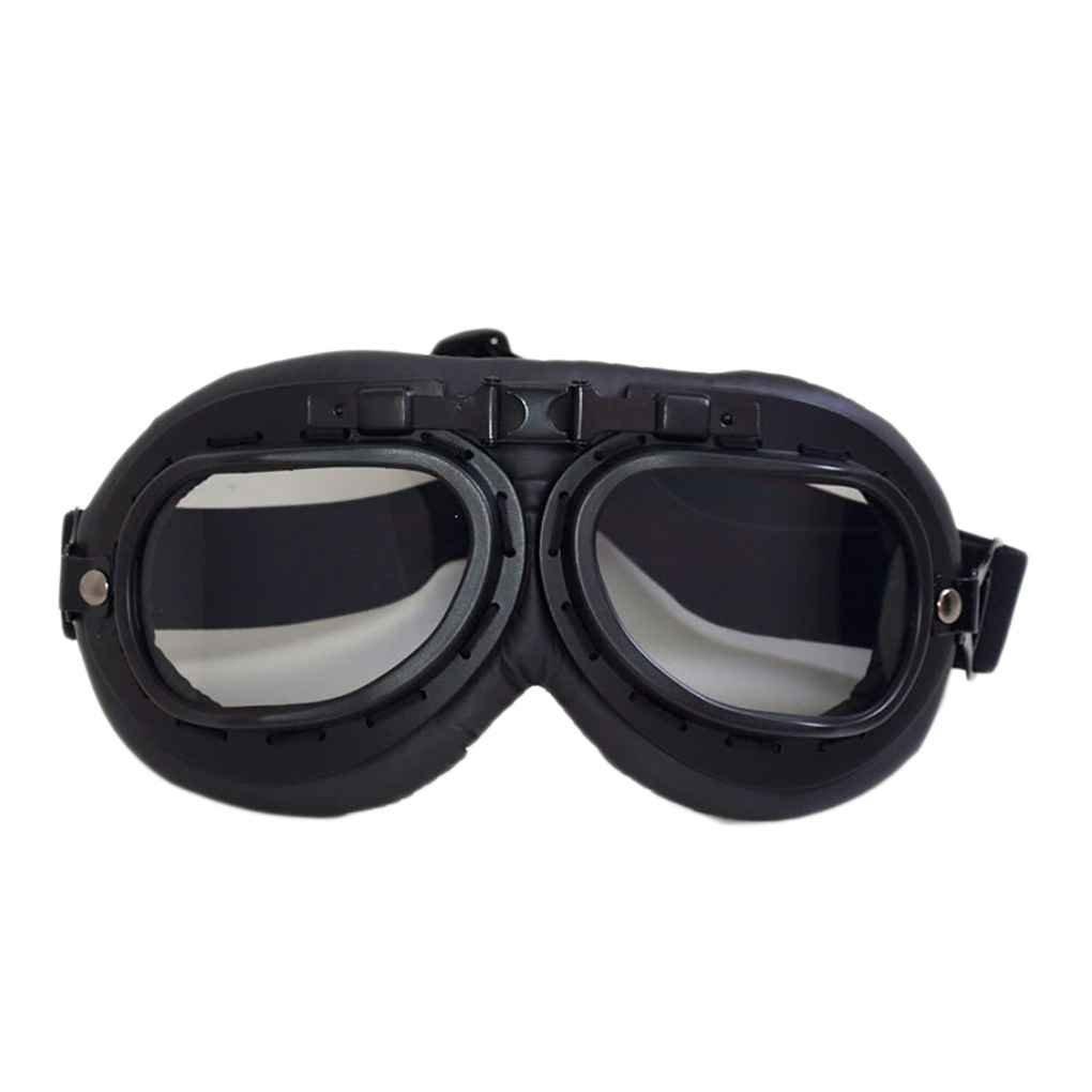 A prueba de viento a prueba de polvo retro protecci/ón UV conductores de motocicletas gafas al aire libre Moto Casco Gafas de cristales decoraci/ón Topker