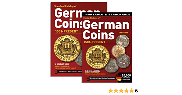 Standard Catalog Of German Coins 1501 Present 3rd Edition Book Cd Amazon Com Books