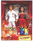 High School Musical Troy & Gabriella Poseable Doll Figure Toys