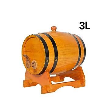 FYHDJ14 Barril De Vino Vino Blanco Barril De Vino Barril Roble 3L ...