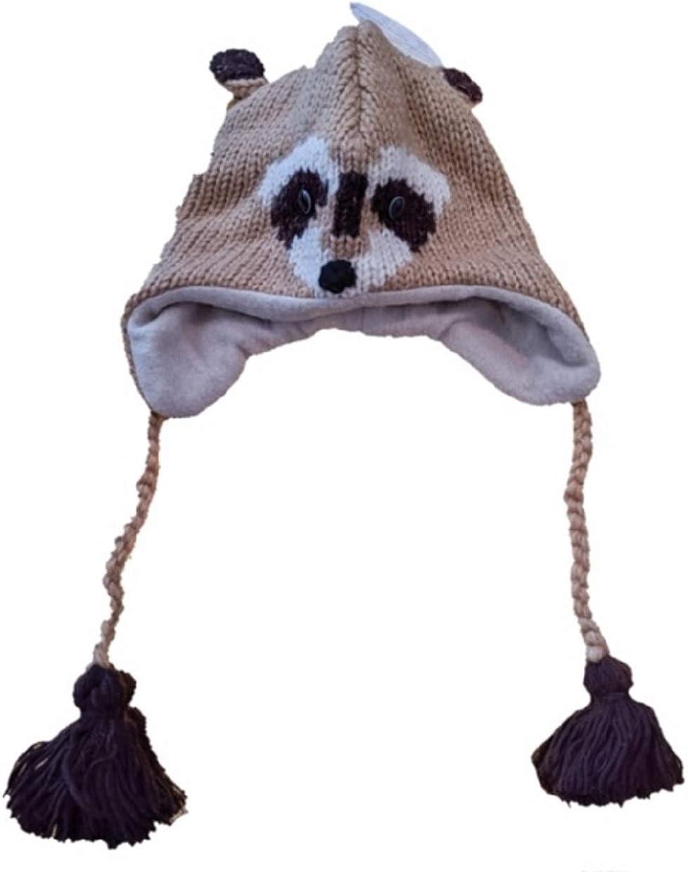 CHILDREN/'S RACCOON HAT