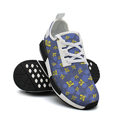 Tennis Bee Fashion Womens FAAERD Shoes Breathable Shoes Lightweight Killer Rendy Sneakers Honey Mesh qf4qTB