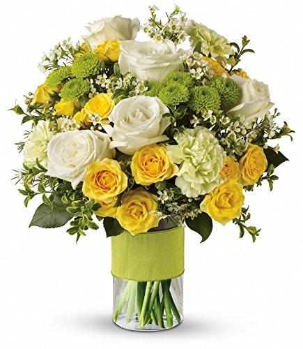 Sunny Spectacular Flower Arrangement Standard by Plaza Flowers - Fresh Flowers Hand Delivered - Philadelphia ()