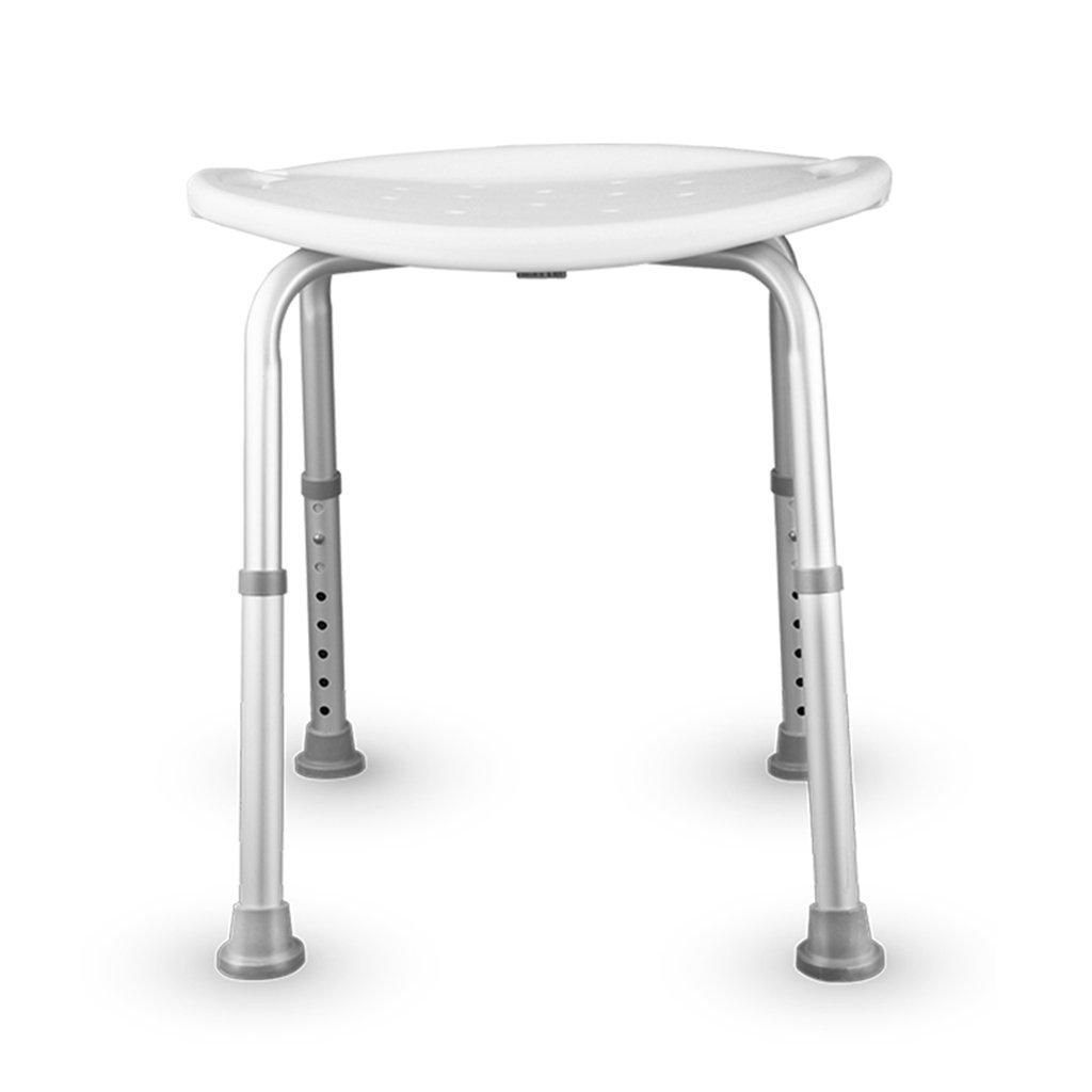 お買い得モデル 入浴用の椅子老人用のバス椅子アルミ製のトイレスツールバスルーム非スリップ式のポータブルバスルームスツール B07DGVP3Q5 B07DGVP3Q5, プシュケチカ:194be0bf --- calleridpop.com.atracservices.com