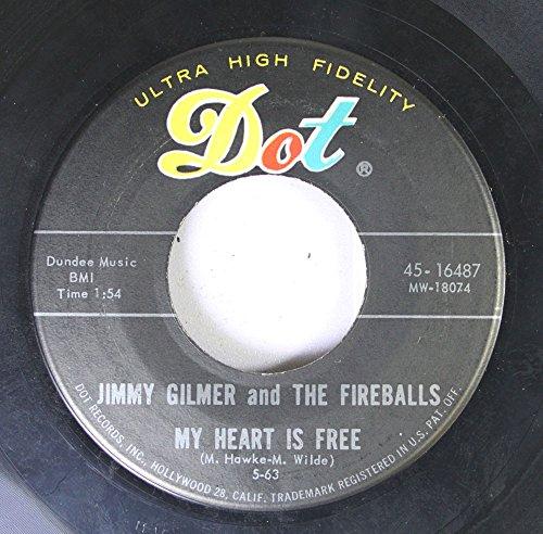 FIREBALLS 45 RPM Sugar Shack / My Heart Is Free ()