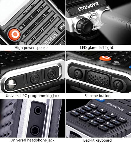 QIANGHONG UV-B2PLUS Latest Model Dual Way Radios Range