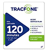Tracfone 120 Minutes / Units for 90 Days - Tracfone Nationwide Prepaid Wireless Refill Pin