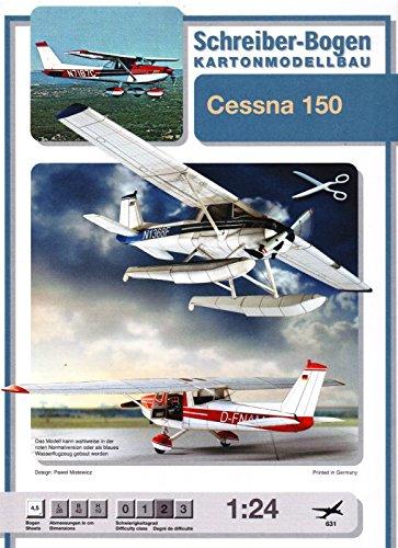 Schreiber-Bogen Cessna 150 Card Model