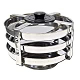 Tabakh DIP-103 Food Container Stackable Stainless Steel Pressure Cooker Steamer Insert Stand - For Instant Pot 6qt & 8qt