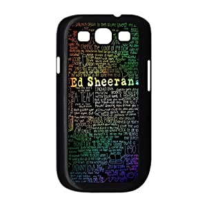 Customize Famous Singer Ed Sheeran Back Cover Case for Samsung Galaxy S3 i9300