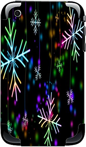 Neon Snowflakes Snowflake iPhone 3G&3GS Vinyl Decal Sticker Skin (Iphone 3g Decal)