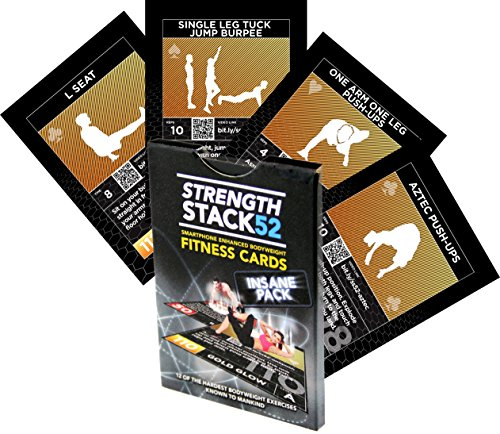 Exercise Cards Insane Pack Instructions