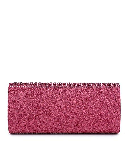 Fuchsia Pochette Fashions pour Elegant femme YXq5wqPIx