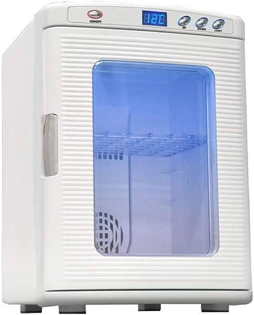 LJJOO Mini refrigerador y Calentador refrigerador Portable ...