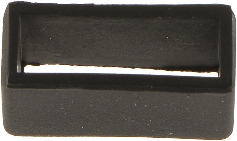 FLAMEER 10er Set Uhrenarmb/änder Zubeh/ör Gummi Uhrenarmband Schlaufe Gummihalter f/ür Smartwatch 18mm Breite