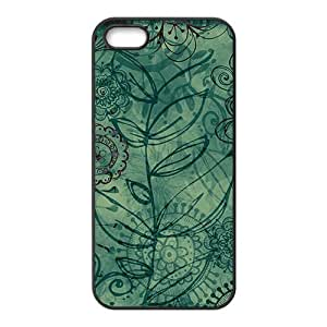 Artistic aesthetic flowers fashion phone case for iPhone 5s