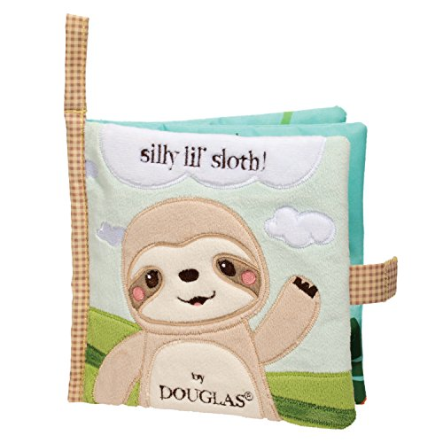 Cuddle Toys 6413 Sloth Activity Book