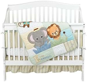 Amazon Com Baby Einstein Jungle Discovery 4 Piece Crib