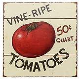 tomato design - Barnyard Designs Vine Ripe Tomatoes Retro Vintage Tin Bar Sign Country Home Decor 11
