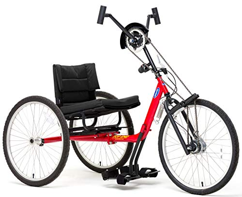 (Top End XCL Handcycle, 16 inch Seat Width, Red, 1166564)