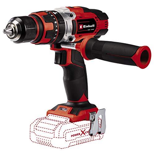 Einhell 4513926 Taladro percutor con batería, 18 V, Rojo, Negro