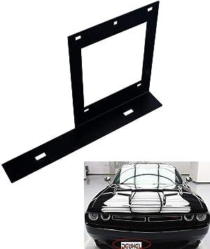 DODGE CHALLENGER Front Bumper License Plate Bracket Frame Holder NEW OEM MOPAR