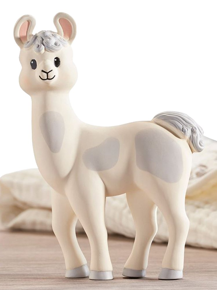 Amazon.com   Lil  Llama Natural Rubber Teething Toy   Baby 5cbe8f467c