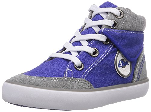 s.Oliver 35206 Mädchen Hohe Sneakers Blau (Royal Comb 843)