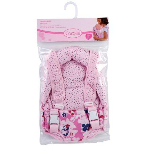 Amazon.es: Corolle X0502 - Mochila portabebés para muñecas de 36 a 42 cm, color rosa: Juguetes y juegos