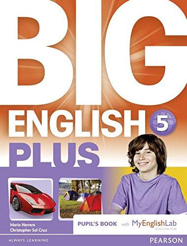 Big English Plus 5 Pupils' Book with MyEnglishLab Access Code Pack pdf epub