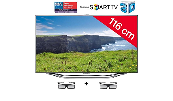 TV Samsung UE46ES8000 46\\ LED Full HD 3D Smart, Smart Interaction: Amazon.es: Electrónica