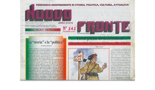 Nuovo fronte. Periodico indipendente di storia 1b88110b5e4