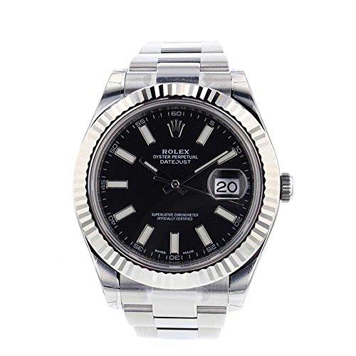 Rolex Datejust II 41mm Steel Black Dial Men's Watch (Rolex Datejust)