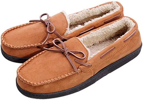 Mens Response ultra light weight slip on Moccasin Slippers size
