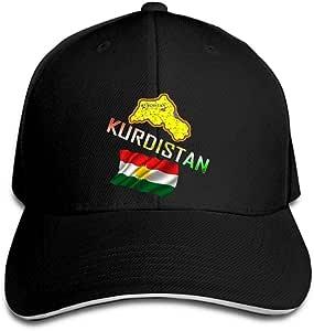 DSFJK Gorra de béisbol Estampado de Logotipo de Kurdistán
