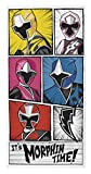 Power Rangers Morphin Time Towel, Multi