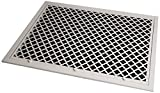 SteelCrest BTU25X20FFWH Bronze Series Designer Filter Return Vent with Hinged Door, White