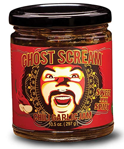 Ghost Scream: Chili Garlic Jam (10.5 oz)