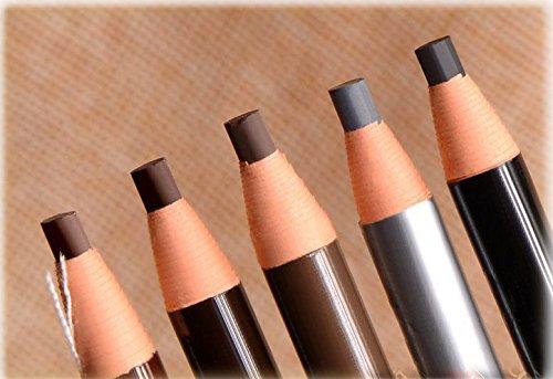jiaqinsheng impermeable lápiz de cejas para microblading Peel Off Luz de tira del cable (marrón)