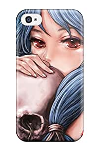 skullsanime roses Anime Pop Culture Hard Plastic iPhone 4/4s cases 2922056K349890789