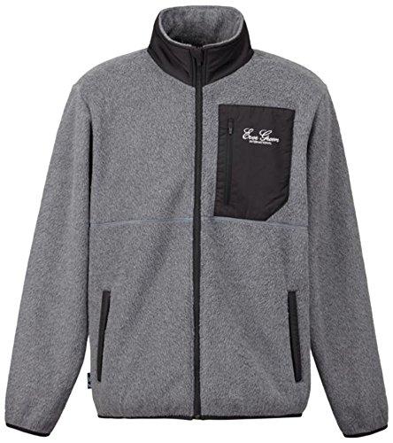 エバーグリーン(EVERGREEN) E.G.ライトウォームフリースジャケット グレー Mの商品画像